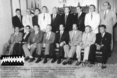 11ª Legislatura - 1997 a 2000 e Mesa Diretora