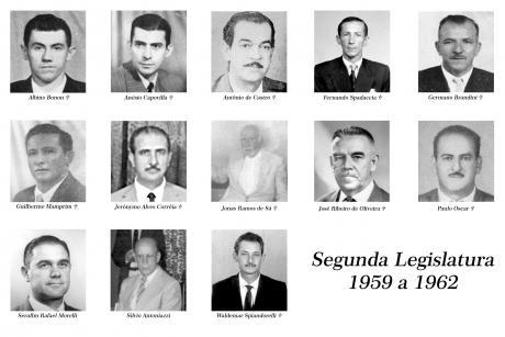 2ª Legislatura - 1959 a 1962 e Mesa Diretora